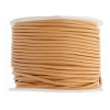 Leather Round Cord 1.5mm Peach